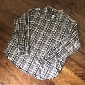 Patagonia Men's organic cotton plaid XL L/S Shirt